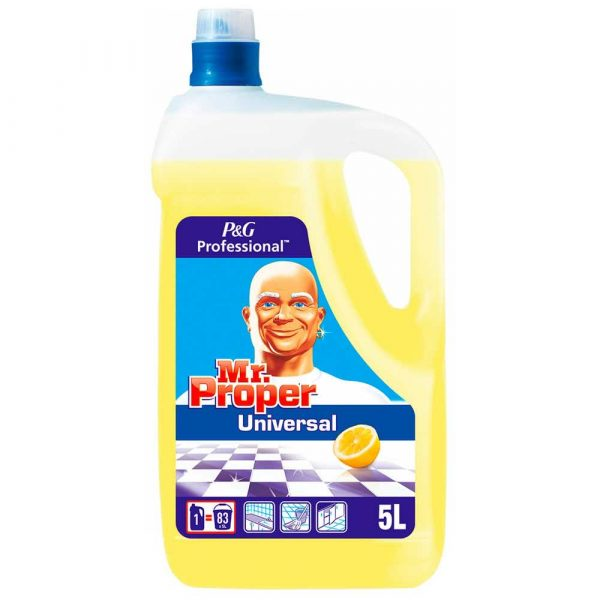 proszek do prania 4 alibiuro.pl Uniwersalny płyn MR PROPER Lemon profesjonalny 5l 77