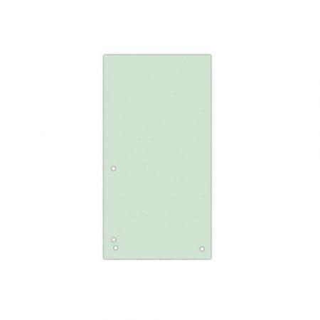 przekładki 4 alibiuro.pl Przekładki DONAU karton 1 3 A4 235x105mm 100szt. zielone 66