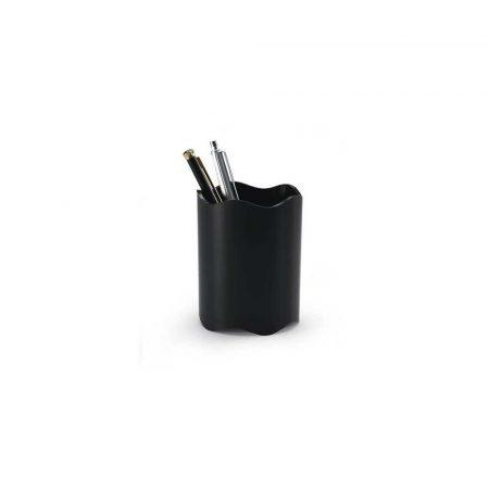 przyborniki na biurko 1 alibiuro.pl 1701235 Kubek na długopisy Trend Durable czarny 1701235060 93