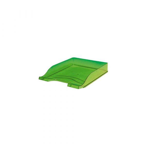 przyborniki na biurko 1 alibiuro.pl Półka na dokumenty Colors BANTEX przezroczysty zielony 64