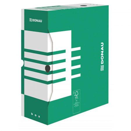 pudło archiwizacyjne 4 alibiuro.pl Pudło archiwizacyjne DONAU karton A4 120mm zielone 16