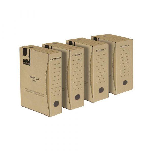 pudło archiwizacyjne 4 alibiuro.pl Pudło archiwizacyjne Q CONNECT karton A4 150mm szare 36