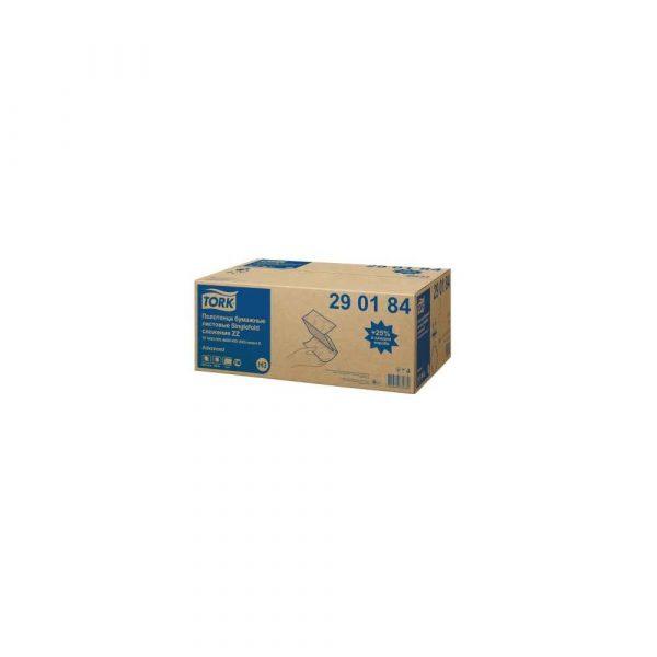ręcznik kuchenny 1 alibiuro.pl Ręcznik ZZ Advance H3 2 warstwowy biały 20x200szt 290184 TORK 85