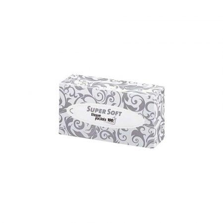 ręczniki papierowe 1 alibiuro.pl 205050 Chusteczki kosmetyczne 2 warstwowe wysokiej jakości SUPER SOFT WEPA 4