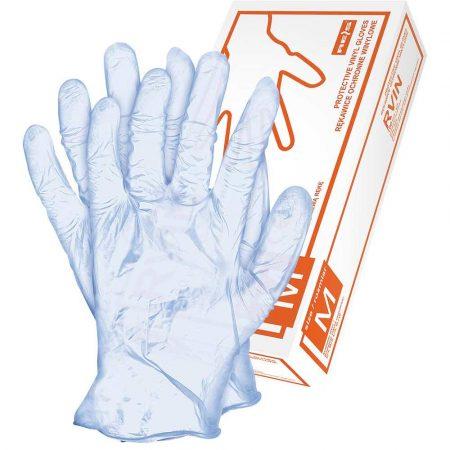 rękawice gumowe 2 alibiuro.pl RĘKAWICE WINYLOWE RVINNL 98