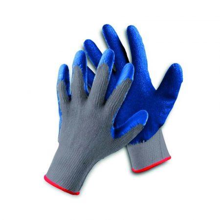 rękawice montażowe 4 alibiuro.pl Rękawice ekon. Clinker HS 04 002 montażowe rozm. 10 biało niebieskie 35