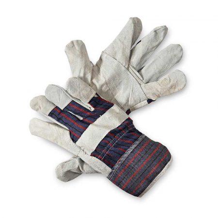 rękawice montażowe 4 alibiuro.pl Rękawice ekon. Pop1 HS 01 001 montażowe wzm. skórą dwoiną bydlęcą rozm. 10 5 48