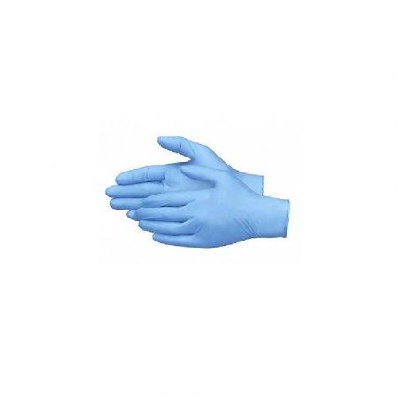 rękawice powlekane 1 alibiuro.pl Rękawiczki nitrylowe niebieskie 200 szt. rozm. M 57