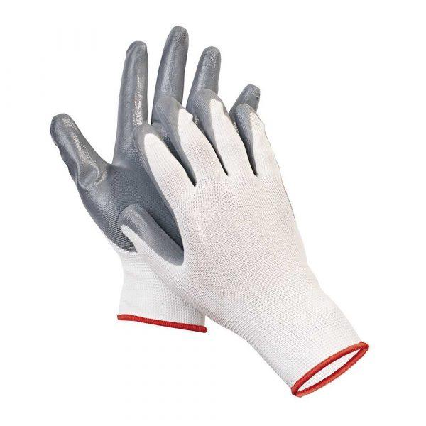 rękawice powlekane 4 alibiuro.pl Rękawice ekon. Pop4 HS 04 001 montażowe poliester nitryl rozm. 10 65