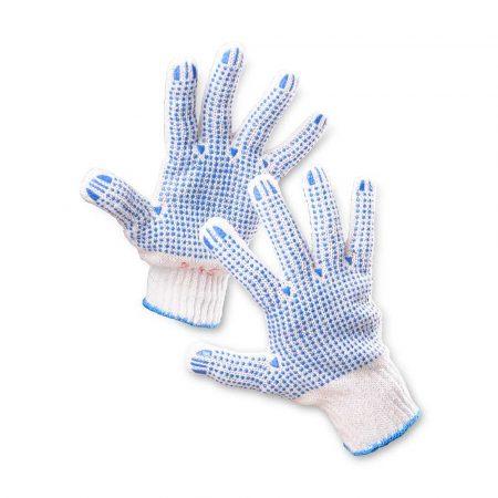 rękawice robocze 4 alibiuro.pl Rękawice ekon. Universal HS 04 006 montażowe rozm. 10 biało niebieskie 63
