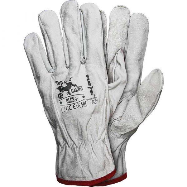 rękawice skórzane 2 alibiuro.pl RĘKAWICE OCHRONNE RLCS+ 50