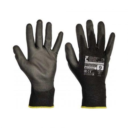 rękawiczki ochronne 4 alibiuro.pl Rękawice Evolution Black montażowe rozm. 8 czarne 17