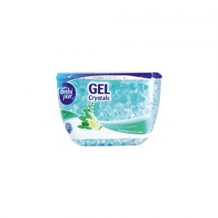 środki czystości i higiena 1 alibiuro.pl Ambi Pur Gel Crystals Eukaliptus i Limonka odświeżacz żelowy 150g 69
