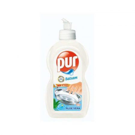 środki czystości i higiena 4 alibiuro.pl Płyn do mycia naczyń PUR Aloes 450ml 0