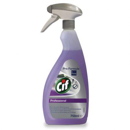 środki czystości i higiena 4 alibiuro.pl Preparat do mycia i dezynfekcji CIF Diversey 2w1 skoncentrowany 750ml 4