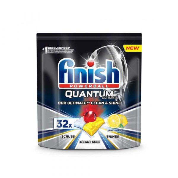środki czystości i higiena 4 alibiuro.pl Tabletki do zmywarki FINISH Quantum Ultimate 32szt. lemon 71