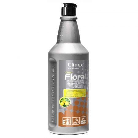 środki czystości i higiena 4 alibiuro.pl Uniwersalny płyn CLINEX Floral Citro 1L do mycia podłóg 68