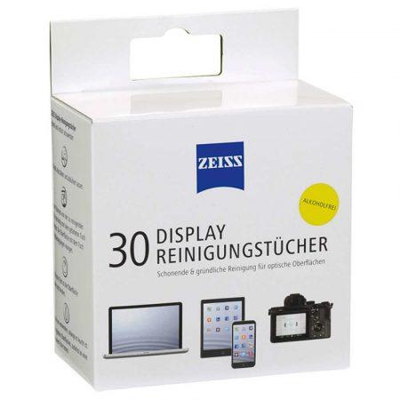 środki czyszczące do elektroniki 4 alibiuro.pl Chusteczki do czyszczenia ekranów tabletów i laptopów ZEISS 30 szt. białe 8