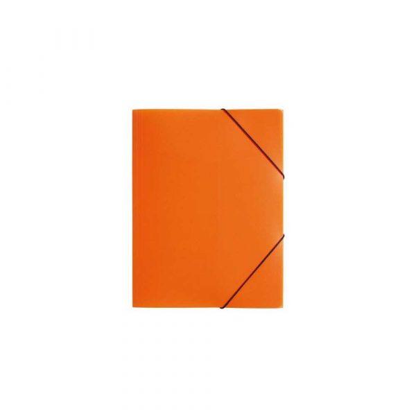 skoroszyt 1 alibiuro.pl 21613 Teczka z gumką A4 Trend PP 3 skrzydłowa PAGNA Durable 21613 09 pomarańczowa 60