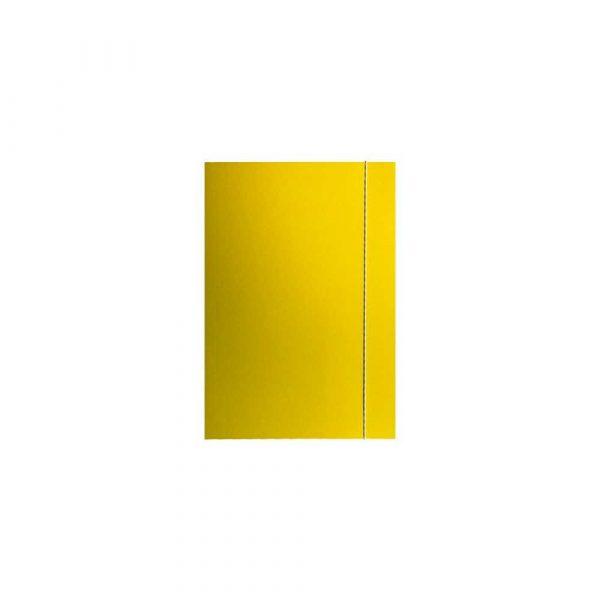 skoroszyty 1 alibiuro.pl Teczka A4 kolorowa z gumką klejona Barbara żółty 61