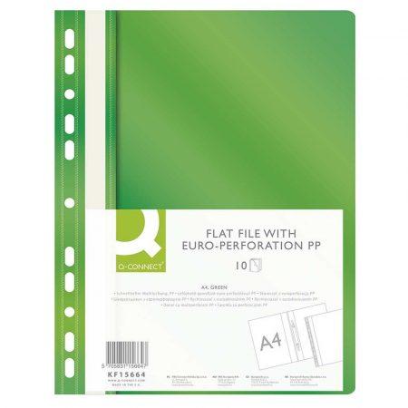 skoroszyty 4 alibiuro.pl Skoroszyt Q CONNECT PP A4 standard 120 170mikr. wpinany zielony 32