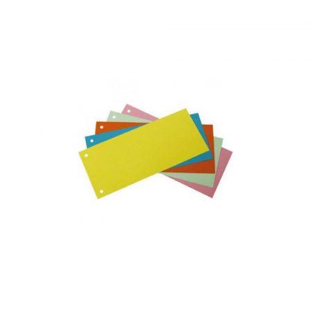 sprzęt biurowy 1 alibiuro.pl 6079 Przekładki indeksujące 1 3 A4 op. 100 szt. Bantex żółty 73