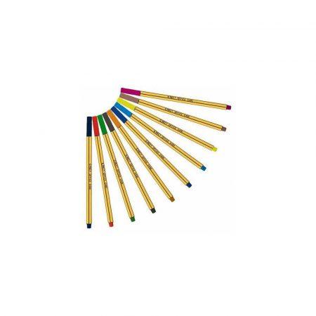 sprzęt biurowy 1 alibiuro.pl Cienkopisy D400 komplet 10 kolorów 105226 D.RECT 27