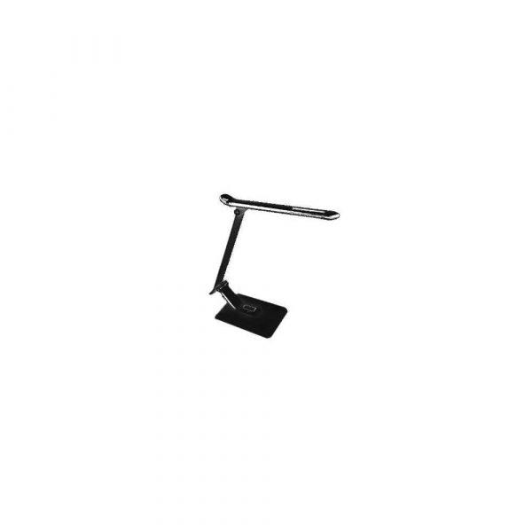 sprzęt biurowy 1 alibiuro.pl Lampka biurkowa LED PLATINET DESK LAMP 12W 6W USB CHARGER PDL70B 44397 czarna 83
