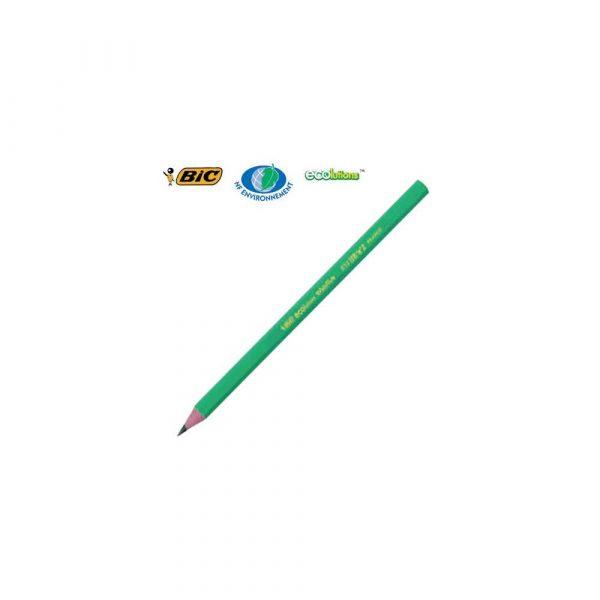 sprzęt biurowy 1 alibiuro.pl Ołówek HB bez gumki ECOlutions Evolution 650 BIC 96
