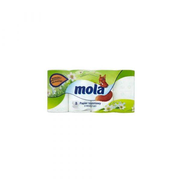 sprzęt biurowy 1 alibiuro.pl Papier toaletowy 8rolek Wiosenny Poranek Mola 61