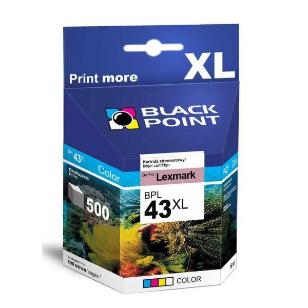 sprzęt biurowy 3 alibiuro.pl BPL43XL Ink Tusz BP Lexmark BLIS BlackPoint BPL43XL SGL43XLBMKW 22