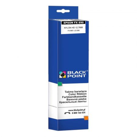 sprzęt biurowy 3 alibiuro.pl KBPE890 Ribbon BP Epson FX890 BlackPoint KBPE890 BTEP0890BBW 5