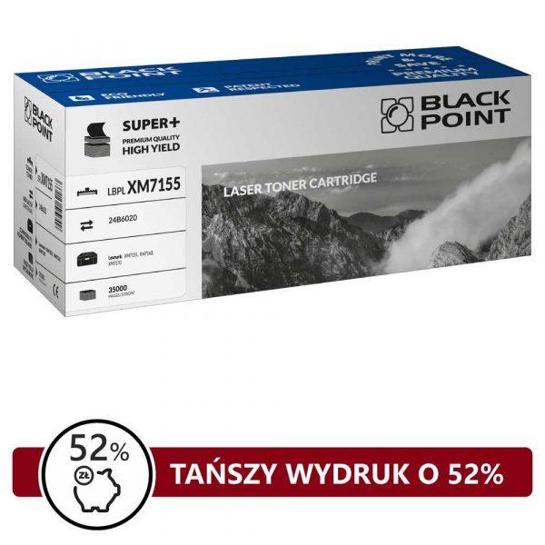 sprzęt biurowy 3 alibiuro.pl LBPLXM7155 Toner BP S Lexmark 24B6020 BlackPoint LBPLXM7155 BLLXM7155BKBW 5