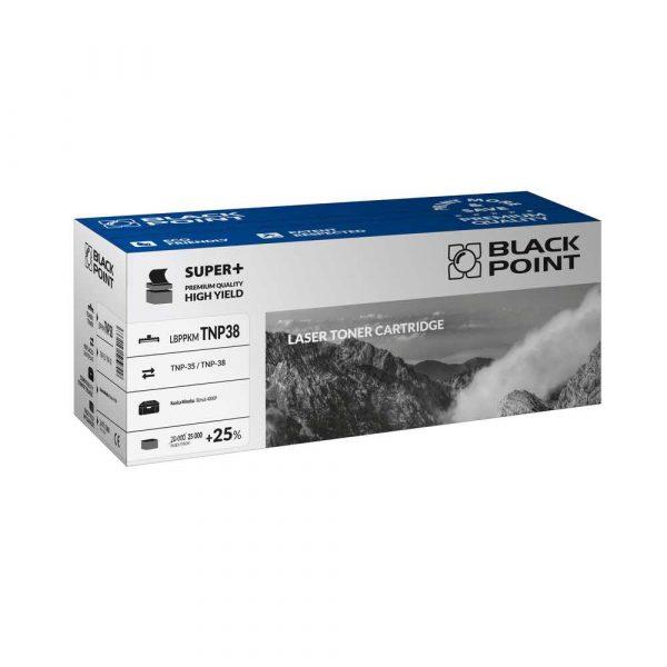 sprzęt biurowy 3 alibiuro.pl LBPPKMTNP38 Toner BP S TNP 35 38 BlackPoint LBPPKMTNP38 BLK4000BCBW 75