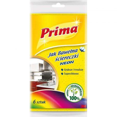sprzęt biurowy 4 alibiuro.pl Ściereczki PRIMA Neon 6szt. mix kolorów 86