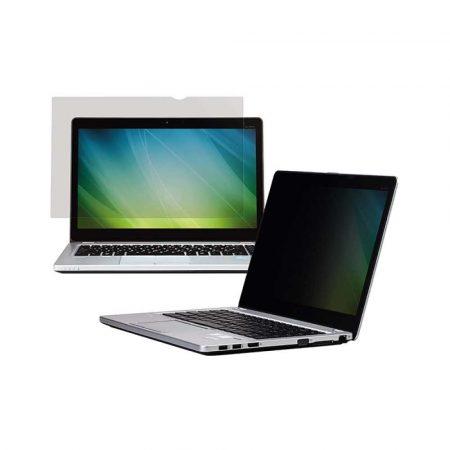 sprzęt biurowy 4 alibiuro.pl Bezramkowy filtr prywatyzujący 3M PF156W9B do laptopów 16 9 15 6 Inch czarny 55