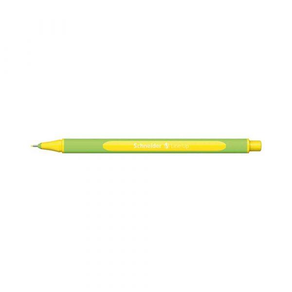 sprzęt biurowy 4 alibiuro.pl Cienkopis SCHNEIDER Line Up 0 4mm żółty 38