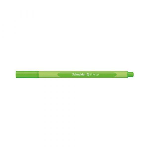 sprzęt biurowy 4 alibiuro.pl Cienkopis SCHNEIDER Line Up 0 4mm zielony neonowy 95