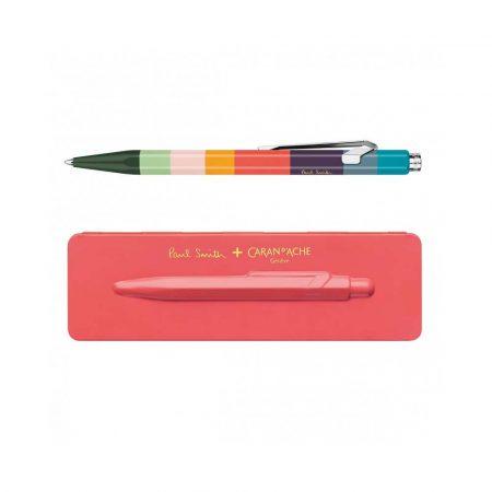 sprzęt biurowy 4 alibiuro.pl Długopis CARAN D Inch ACHE 849 Paul Smith 3 Coral Pink M w pudełku koralowy 96