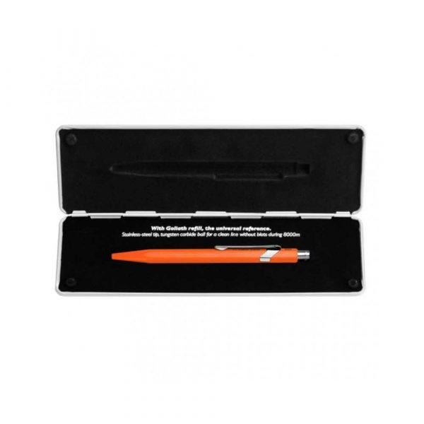 sprzęt biurowy 4 alibiuro.pl Długopis CARAN D Inch ACHE 849 Pop Line Fluo M w pudełku pomarańczowy 77
