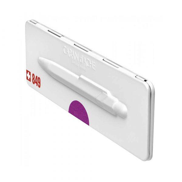 sprzęt biurowy 4 alibiuro.pl Długopis CARAN D Inch ACHE 849 Pop Line Metal X M w pudełku fioletowy 86