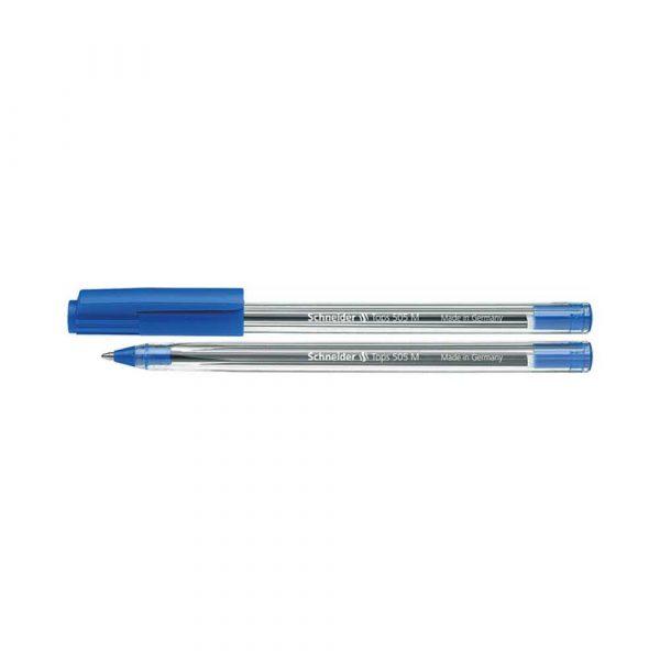 sprzęt biurowy 4 alibiuro.pl Długopis SCHNEIDER Tops 505 M niebieski 65