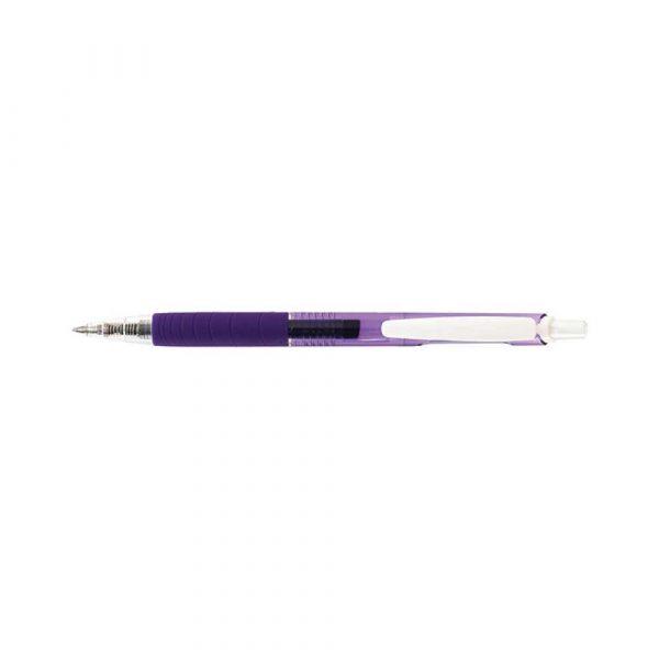 sprzęt biurowy 4 alibiuro.pl Długopis automatyczny żelowy PENAC Inketti 0 5mm fioletowy 52