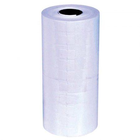 sprzęt biurowy 4 alibiuro.pl Etykiety do metkownic Q CONNECT 23x16mm dwurzędowe białe 44