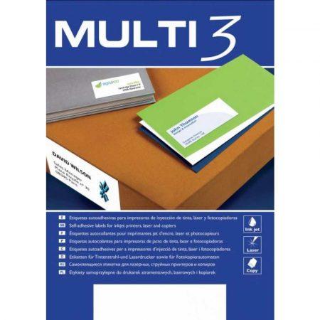 sprzęt biurowy 4 alibiuro.pl Etykiety uniwersalne MULTI 3 105x48mm prostokątne białe 100 ark. 43