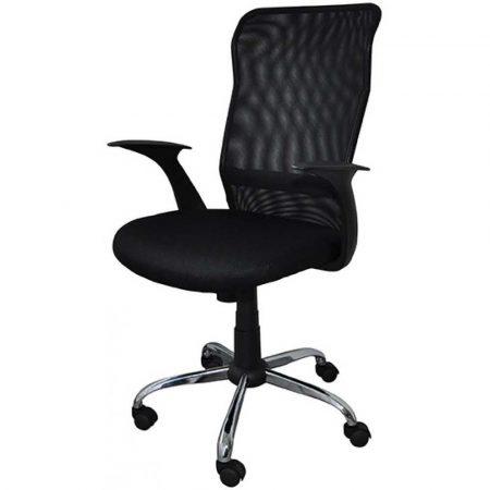 sprzęt biurowy 4 alibiuro.pl Fotel biurowy OFFICE PRODUCTS Rhodos czarny 99