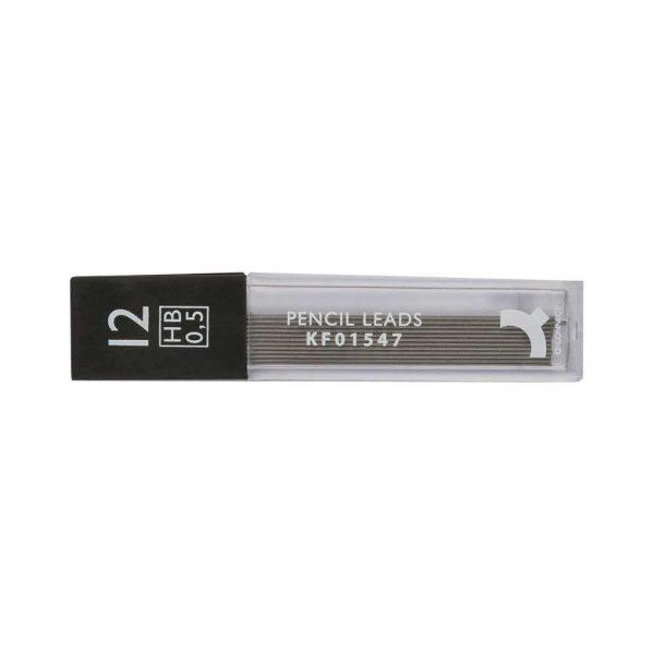 sprzęt biurowy 4 alibiuro.pl Grafity do ołówków Q CONNECT 0 5mm HB 38