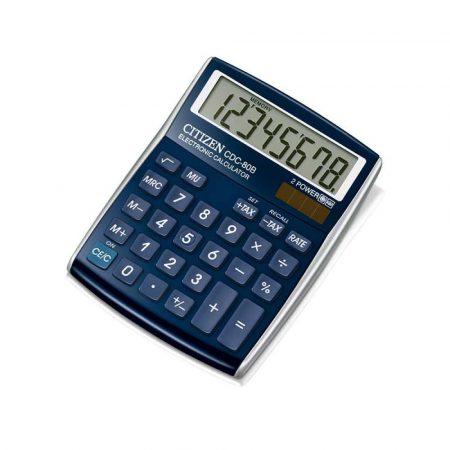 sprzęt biurowy 4 alibiuro.pl Kalkulator biurowy CITIZEN CDC 80WB 8 cyfrowy 135x105mm niebieski 85