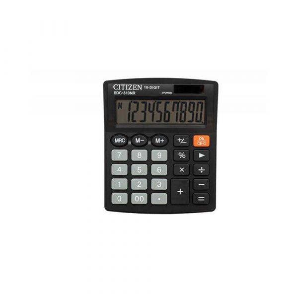 sprzęt biurowy 4 alibiuro.pl Kalkulator biurowy CITIZEN SDC 810NR 10 cyfrowy 127x105mm czarny 95