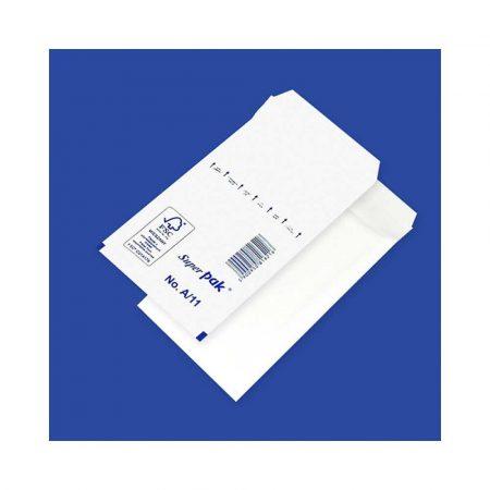 sprzęt biurowy 4 alibiuro.pl Koperty samoklejące z folią bąbelkową OFFICE PRODUCTS HK A11 100x165mm 120x175mm 10szt. białe 60